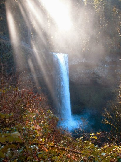 Silver Falls: South Falls in the Winter 02
