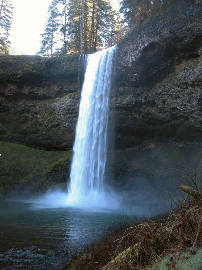 Silver Falls: South Falls in the Winter 11