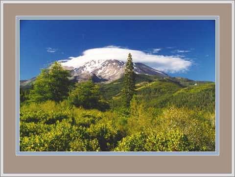 Cloudcap on Mount Shasta, California