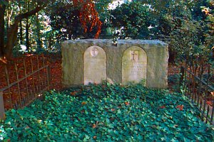 Graves of Dr. John McLoughlin, Father of Oregon, and his wife