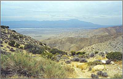 The view from Keys View, Joshua Tree National Park