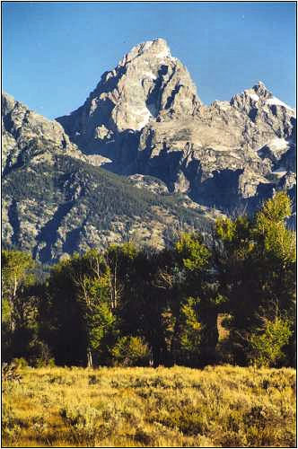 Grand Teton Mountain