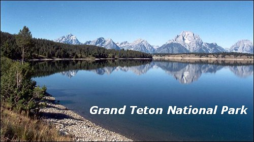 Grand Teton National Park Title