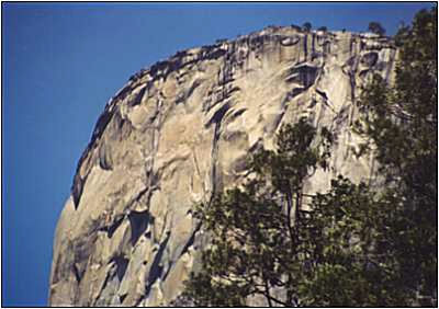 El Capitan close up