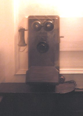 The telephone at Hyde Park