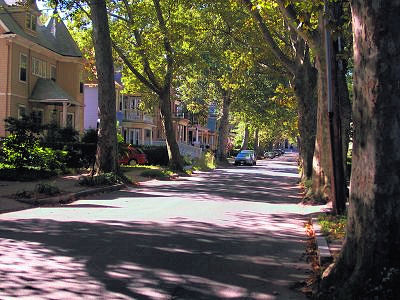 Street in Boston where John Fitzgerald Kennedy was born