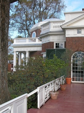 South side view, Monticello