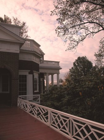 Sunset at Monticello