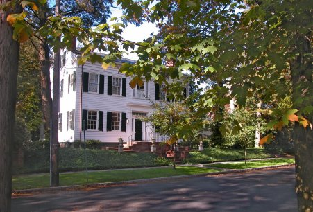 Woodrow Wilson's first Princeton home