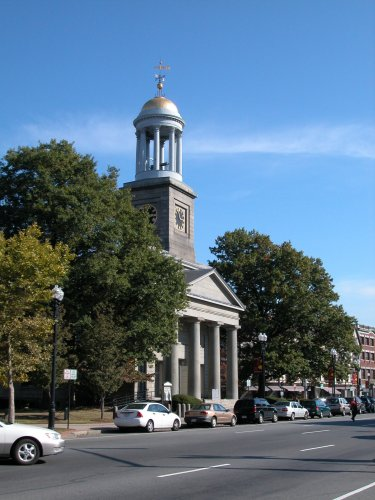 First Parish Church (Unitarian) of Quincy Massachusetts also known as The Adams Temple and The Presidents Church
