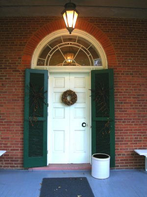 Wheatland front door