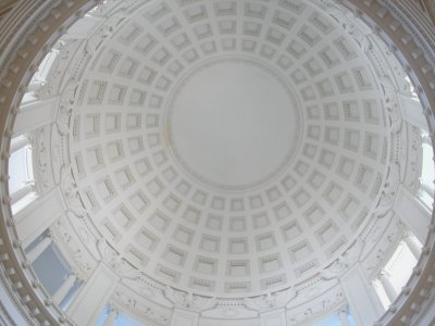 Inside the dome of Grant's Tomb