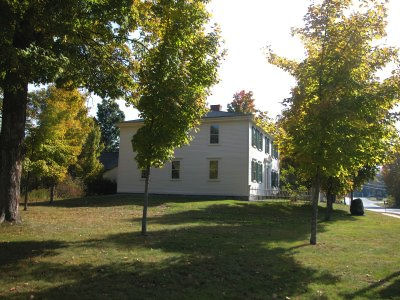 Franklin Pierce's early childhood home