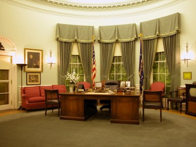 Oval Office during President Truman's term of office