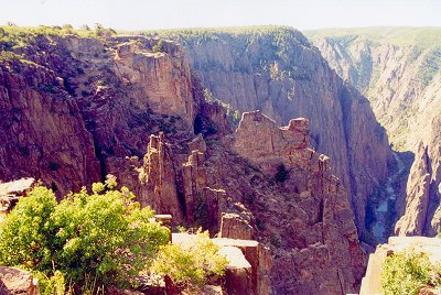 Black Canyon of the Gunnison--Kneeling Camel