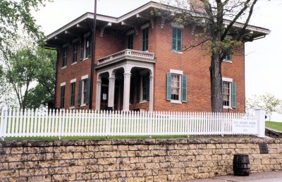 The Grants' Galena, Illinois, home