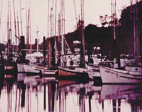 Old Boat Basin, Harbor, Oregon