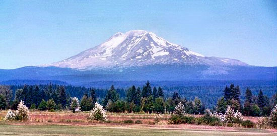 Mount Adams from the south, slightly west