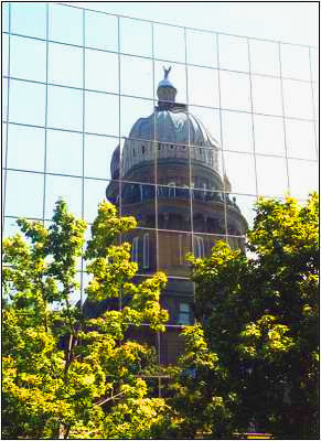 Reflections of Idaho State Capitol