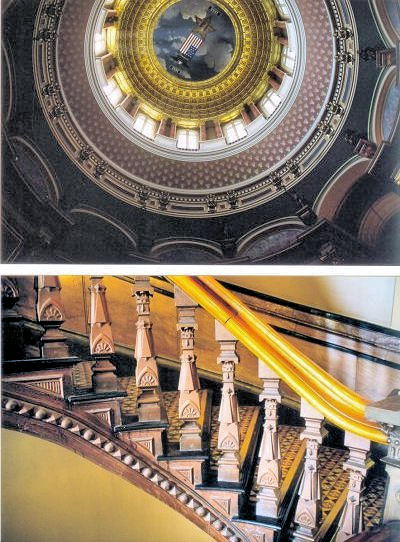 Inside the dome; fine details