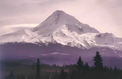 Mount Hood from the east