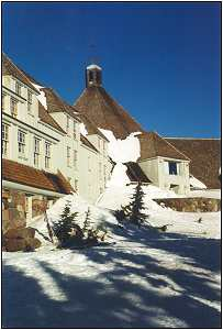 Timberline Lodge on the slopes of Mt. Hood.