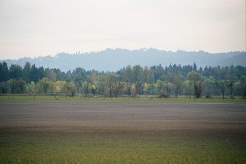 Very near where Lewis and Clark spotted and named Mount Jefferson