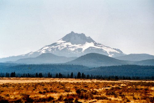 Mount Jefferson from the northeast
