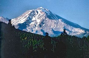 Mount Shasta from the south, September