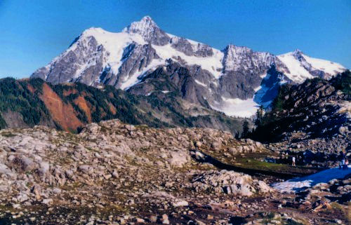 Mount Shuksan from Artist's Point