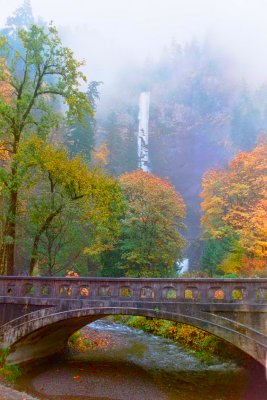 Multnomah Falls in the Autumn, #3