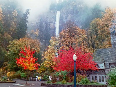 Multnomah Falls in the Autumn, #6