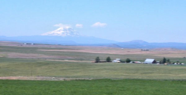 Mt. Adams from US 97 near Goldendale
