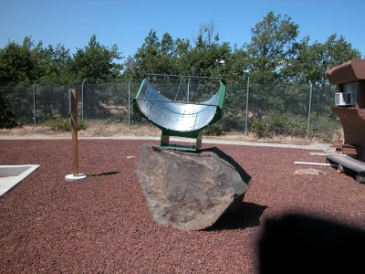 Sundial at Goldendale Observatory