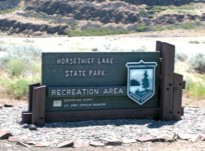 Horsethief Lake State Park