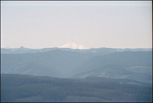 Mount Jefferson from Larch Mountain
