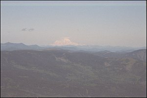 Mount Rainier from Larch Mountain