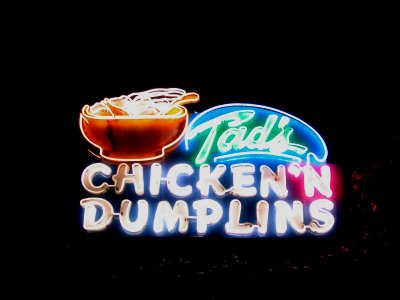 Tad's Chicken and Dumplins