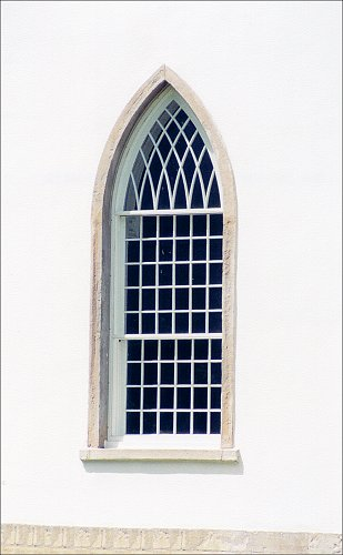 Detail of Kirtland Temple